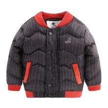 Мальчик волны утолщенным зимнее пальто 2016 зимняя куртка ватник дети дети U4557