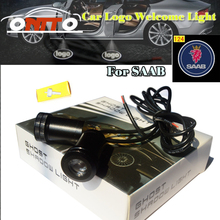 Car Accessories car led door logo light car welcome lamp auto laser projector for Saab 9-3 9-5 93 95 BJ SCS car styling