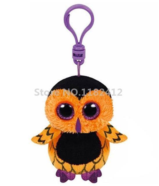 Beanie Cute Stuffed Animals Big Eyes Halloween Screech Owl Plush Clip 8cm  Keychains Key Chain Pendant - Aliexpress.com : Buy Beanie Cute Stuffed Animals Big Eyes