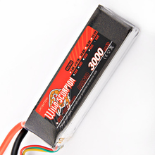 1pcs Wild Scorpion Lipo Battery RC 11 1V 3000MAH 60C lipo battery AKKU For RC Quadcopter