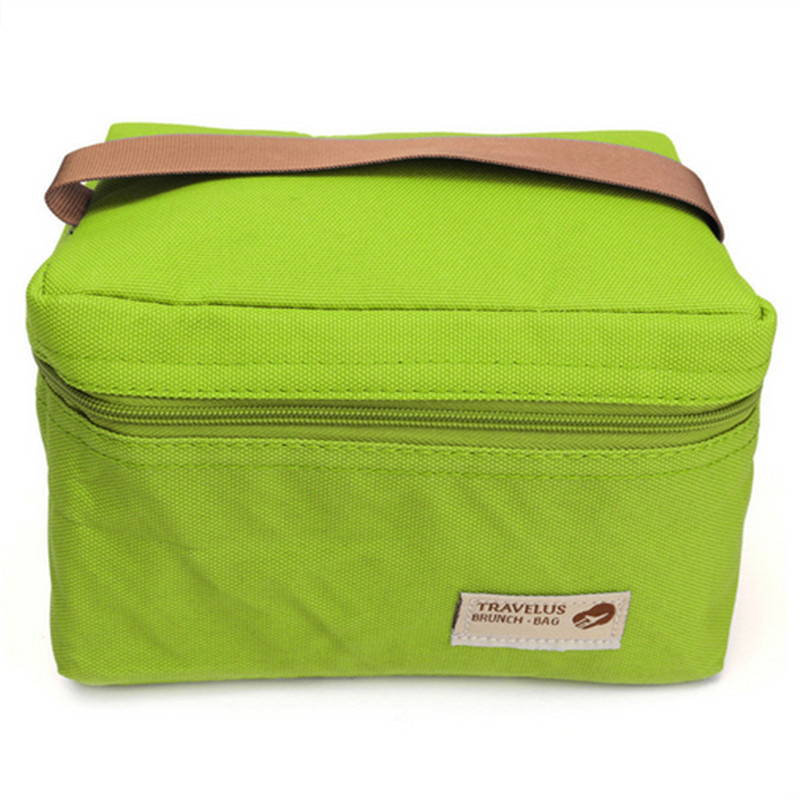 Picnic Packet Bento Box Food Thermal Bag Waterproof Practical Portable Ice Cooler Outdoor Bag