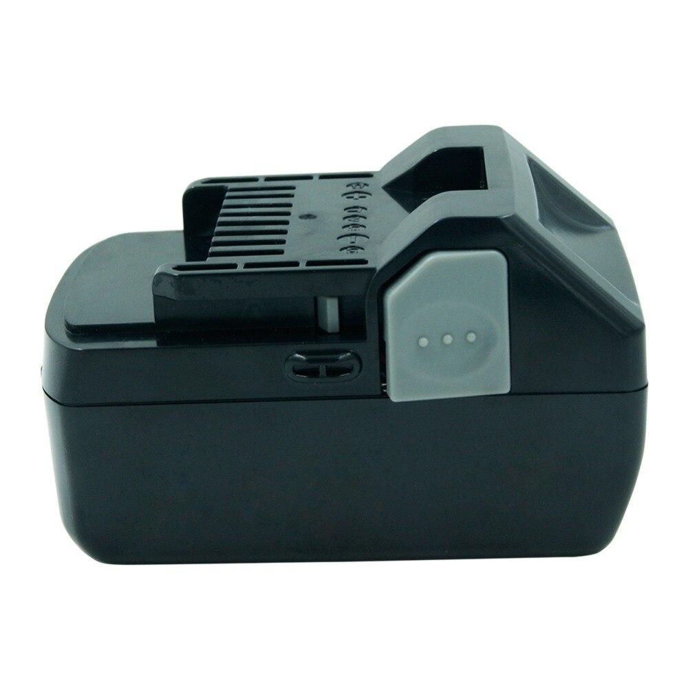 Batterie rechargeable Li-ion LERRONX 18V 4.0Ah pour outil électrique Hitachi BSL1830 BSL1840 DS18DSAL 330067 batterie au Lithium de remplacement - 5