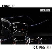 Fashion titanium optical frame, MOQ 1PC,Flexable,good price(6655)