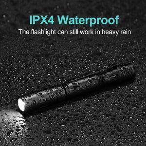 Image 3 - 2000LM מיני נייד קטן Penholder Led פנס לילה הליכה תאורת רכב תחזוקה עבודת Linterna LED לפיד עמיד למים