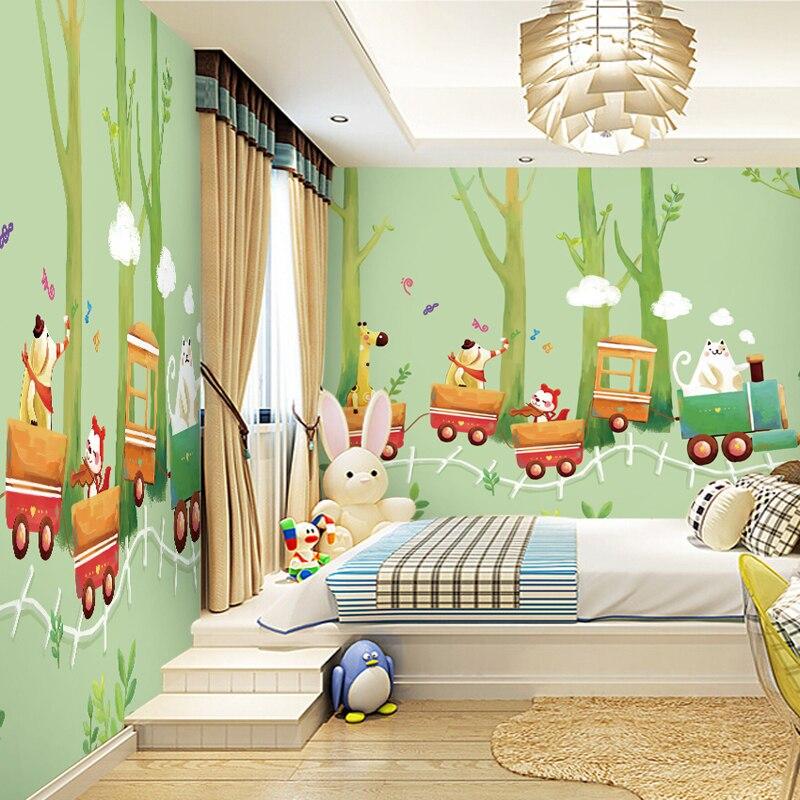 aliexpress: koop gratis verzending cartoon bos wallpaper, Deco ideeën