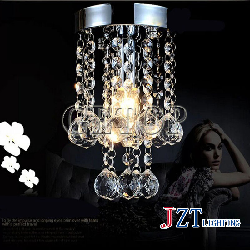 J Best price Modern Crystal led Lights Aisle Lights Creative Porch Lights luxurious Crystal Ceiling Chandelier Lighting Fixtures best price rectangular crystal chandeliers k9 crystal ceiling lamp lighting fixtures restaurant led lighting e14 free shipping