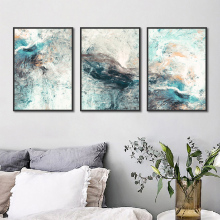 2018 HD Printed 3 piece Canvas Art Abstract Psyche