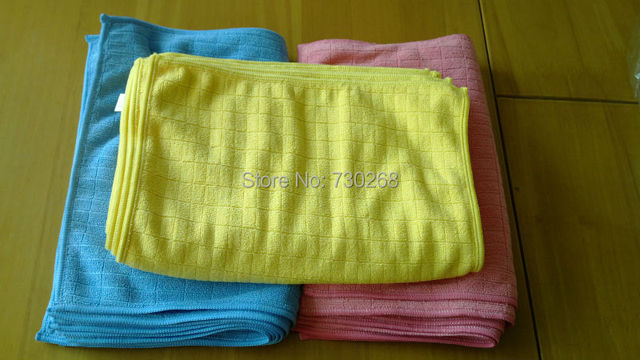 Free Shipping Microfiber Cleaning Cloth Microfibre Kitchen Towels Wiping  Dust Rags Magic Towel 24*32CM