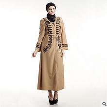 2017 New Muslim Pakistani Saudi Women Clothing Lace Dresses Women Casual  Loose Vestidos a8c693930cb5