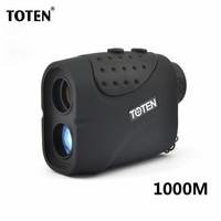 TOTEN 6x21 1000 m Afstandsmeter Laser Afstandsmeter Voor Jacht/Golf Regen Model Outdoor Optics Hunting/Golf Afstand Meter
