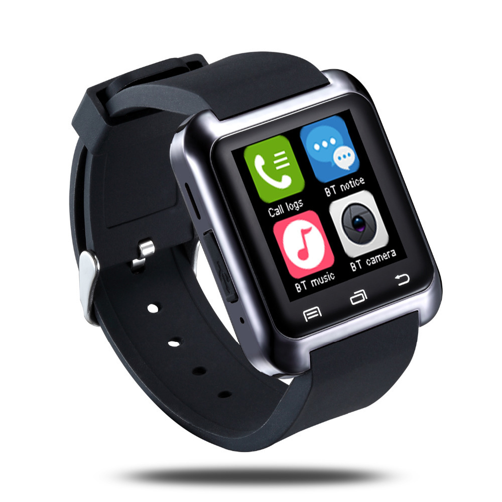 Smartwatch U8S U80 Bluetooth Smart Watch W8 Reloj Inteligente Clock Sports Smartwatch for Samsung LG Android Phone Watch