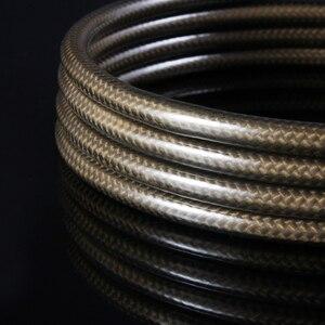 Image 5 - Cabo de áudio od8.0 1m 2m 3m 5m de optilal toslink spdif de alta resolução do escudo s/pdif da fibra do carbono de emk