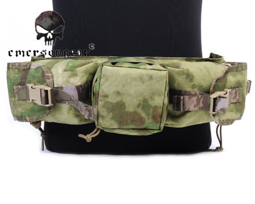 ФОТО Emerson Tatical Waist Bag 1000D Nylon Molle Hunting Pouch Camo Camo Waterproof Durable Army Multifunction Waist Pack/Pouch
