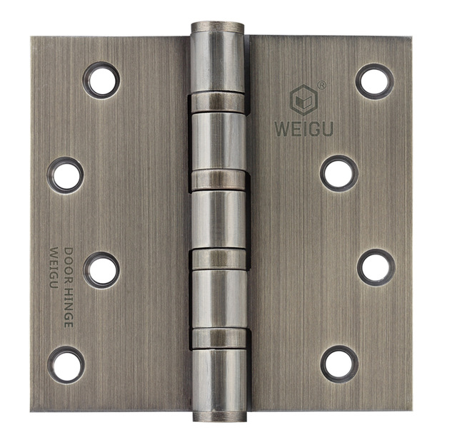 1 Pair Stainless Steel Door Ball Bearing Hinge Antique Bronze Finished (4 inch*4 inch *3.0 mm)