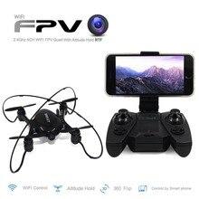 Мини Drone с HD Камера Wi-Fi FPV-системы Quadcopter Дрон Quad вертолет дрони Дистанционное управление игрушка микро Квадрокоптер малыш Игрушечные лошадки вертолет