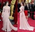 Imitación de Encaje Barato Red Carpet jennifer lopez Celebrity Vestidos 2016 Vestidos de Fiesta de graduación kylie jenner selena gomez vestido de noche