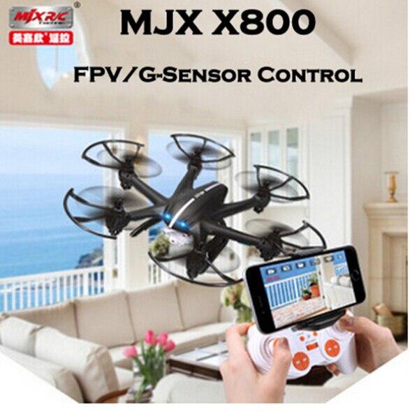 ФОТО MJX X800 Cravity Controll Toy Radio Control Droner 4CH 6Axis MJX X800 With C4005 C4008 FPV Camera VS X600 syma X5C X5SW RC Drone