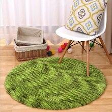 160cm diameter circular carpet living room coffee table carpet computer chair cushions round bedroom blanket free