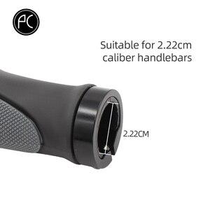 Image 5 - PCycling ergonomiczne uchwyty rowerowe kierownica TPR gumowa obudowa osłona Tone antypoślizgowe MTB rowerowe na ręce reszta amortyzacja Bar End