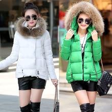 2016 новых женщин осенью и зимой женщин Тонкий Короткие капюшоном пальто