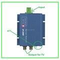 Алюминиевый корпус FTTH оптический приемник/catv оптический узел цена выход 2 порта SC/APC GEPON AGC ATT для triple play сети