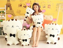 Cute Pillow Sofa Cushion Big Cat Toy For Girls Kawaii Japanese Plush Giant Cats Cushion Pillow Kids Children Birthday Gift Home the new cute and colorful plush toy star pillow home furnishing decorative nap pillow for children 45