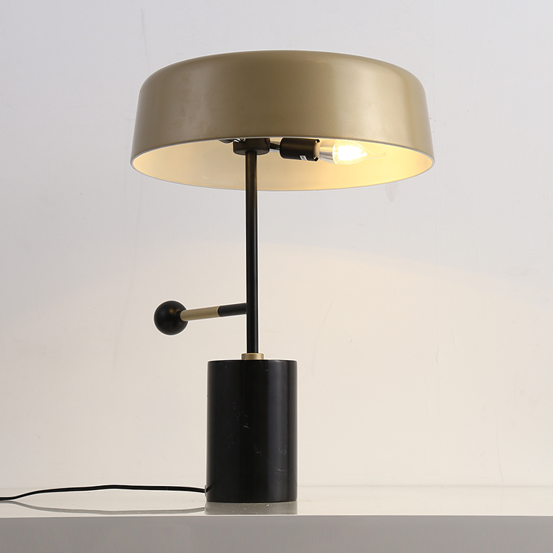 Black Standing table Lamp Modern Fashion BedRoom Lampara de Pie Living Room Standing Lights Gold Metal shade Marble table Lamp modern wood table floor lamp living room bedroom study standing lamps fabric decor home lights wooden floor standing lights