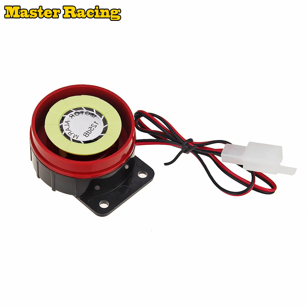 LOUD! 12V Universal Fit Motorbike Motorcycle Scooter Quad Compact Alarm System