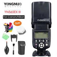 YONGNUO YN565EX III Wireless TTL Flash Speedlite Firmware Update for Canon Support YN600EX-RT II YN568EX III,updated YN565EX II
