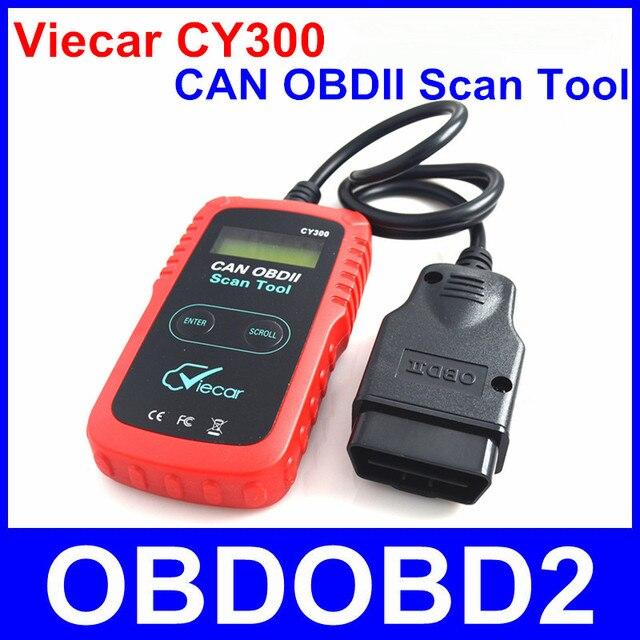 2016 Viecar CY300 CAN OBDII Scan Tool OBD2 Диагностический Код Читателя для Все Протоколы OBD II Dtc Стереть Коды Неисправностей и Сброс MIL