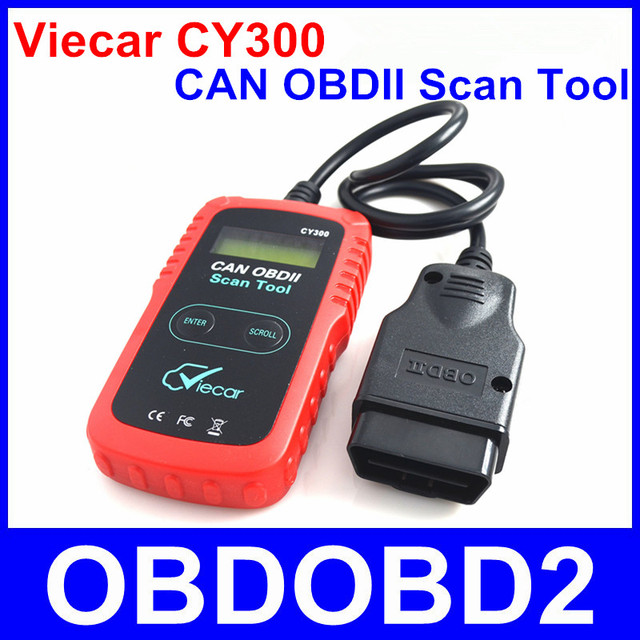 2016 Viecar CY300 CAN OBDII Scan Tool OBD2 Diagnostic Code Reader For All OBD II Protocols Erase MIL Trouble Codes Reset DTCs