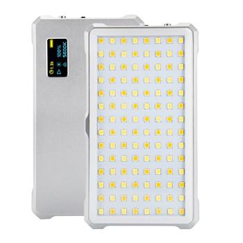 LituFoto F12 Mini LED Video selfie studio Light photographic lighting 3200-5600K Brightness 5%-100% CRI 96+ with Mount Adapter
