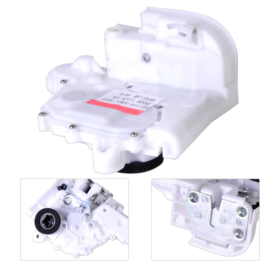 DWCX New Front Right Passenger Door Lock Latch Actuator 72110-SWA-D01 72110SWAD01 Fit For Honda CR-V 2007 2008 2009 2010 2011