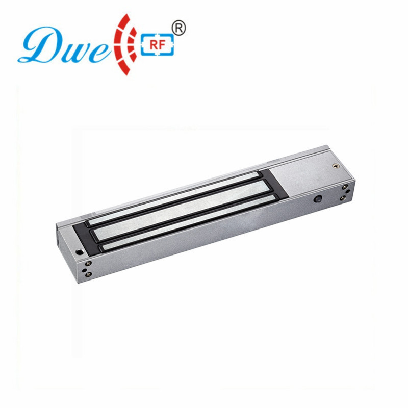 High Security 12V DC 600lbs 280kg zinc metal fireproof single sliding tempered glass door magnetic lock stainless steel gate lock with waterproof for wooden door glass door metal door fireproof door 280kg 600lbs electromagnetic lock