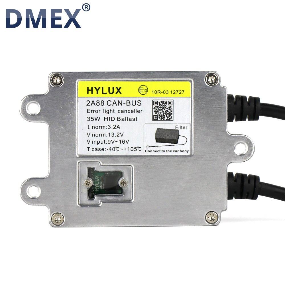 2PCS 100 Original 3 Years Warranty 12V 35W Hylux Hyluxtek 2A88 Slim Canbus HID Xenon Ballast