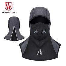 WHEEL UP Cycling Winter Face Mask Ski Mask Dustproof Bike Bicycle Bandana Balaclava Polar Fleece Breather Valve Thermal Headwear
