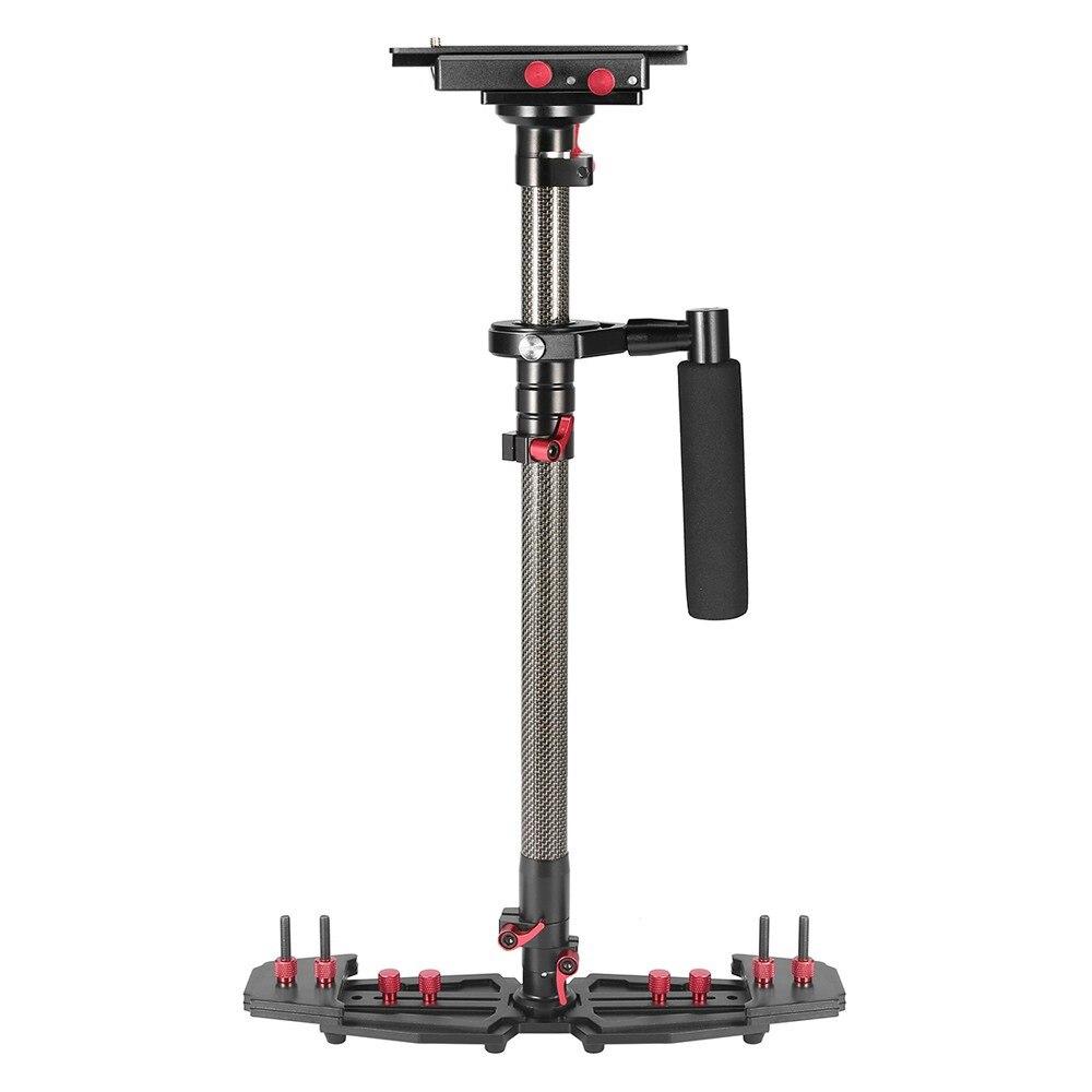 5 kg charge En Alliage D'aluminium réglable portable poignée cardan caméra stabilisateur pour canon 5D2 5D3 6D DSLR SLR caméras