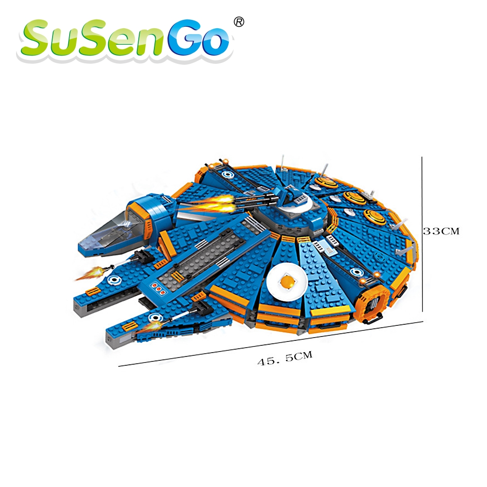 SuSenGo Model Building Kits  1566 Pieces  Space Station Assembled Blocks Educational Toys Gifts For Children SGAS25960 children blocks toys city forklift blocks toys assembled model building kits educational diy toys for kids christmas gift toys
