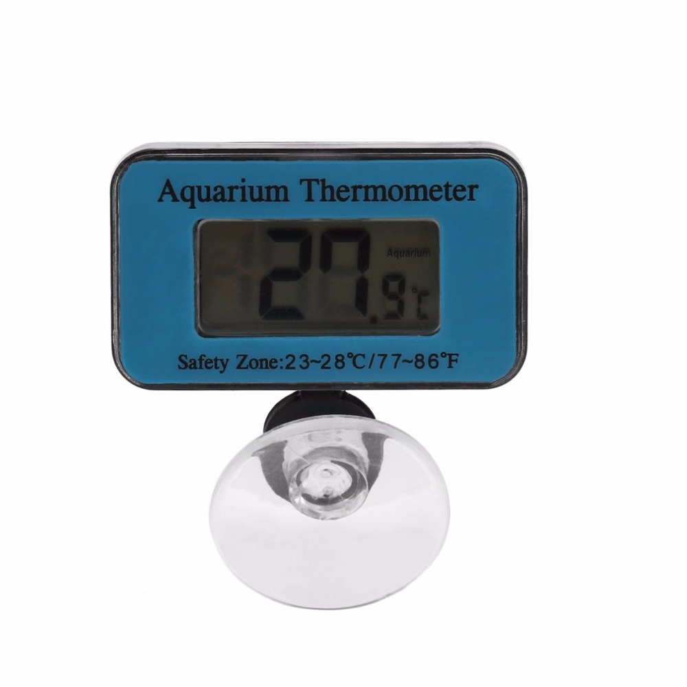 2018 Hot 1Pc Digital Submersible Fish Tank Aquarium LCD Thermometer Temperature Meter Drop Shipping