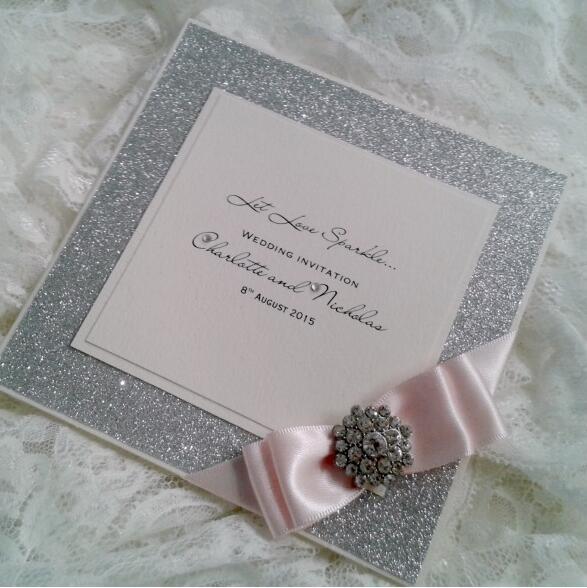 Buy Handmade Glittering Wedding