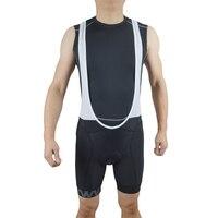 EMONDER Men Cycling Padded Bib Shorts MTB Shorts Breathable Mesh Profession Mountain Road Bicycle Bike Bib