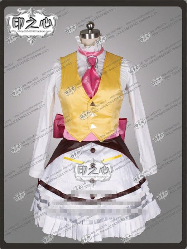 Аниме Алиса: безумие возвращается крышка версия с Lucky Rabbit косплэй костюм рубашка + пальто платье жилет O - 4