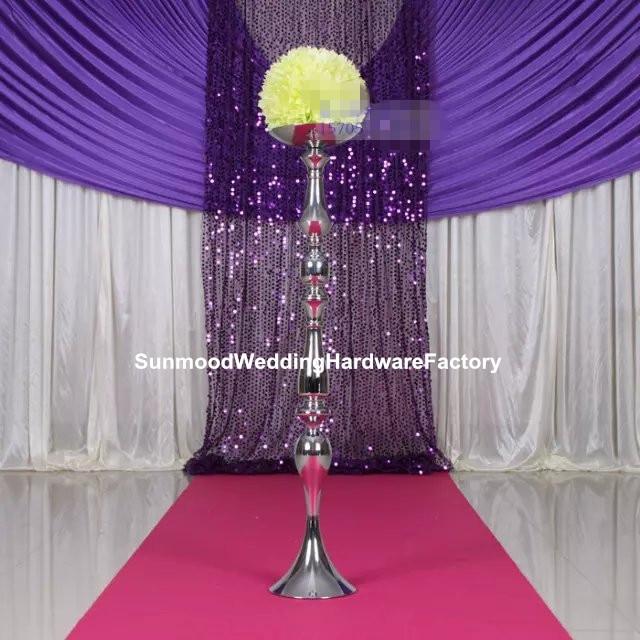 Buy wedding menatal iron aisle pillar for for Wedding decoration stores near me