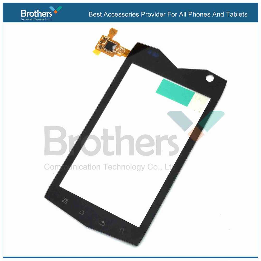 Wholesale Black Outter Touch Screen Panel Digitizer Glass Lens Repair Replacement Parts For MANN ZUG 3 Falcon Free Shipping replacement touch screen digitizer glass lens repair parts for samsung galaxy note 10 1 p5100 p5110 n8000 black tools