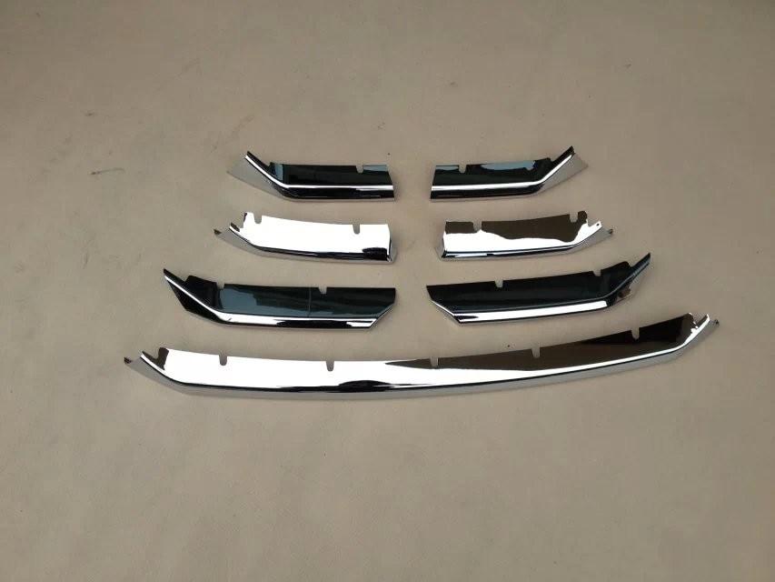 WELKINRY, авто покрытие, Стайлинг для Lexus NX,, ABS, хром, передняя головка, решетка, гоночный гриль, наклейка, литье, отделка - Цвет: 7pcs