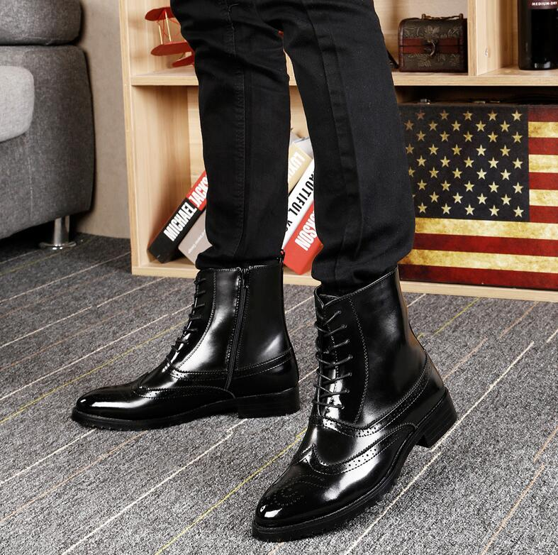Shoes 2018 New Fashion Style Designer Formal Mens Dress Shoes Genuine Leather Luxury Wedding Shoes Men Flats Office Shoes Lc1570 Sturdy Construction