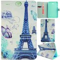 Tablet Case for Samsung Galaxy Tab 4 7.0 SM-T230 T235 Cute Kids PU Leather Wallet Case Flip Cover Soft TPU Back Shell inside