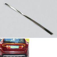 BBQ@FUKA Chrome stainless steel Car Tail Rear Door Trunk Lid Decoration Trim Cover Styling Sticker Fit For VOLVO XC60 2009 2013