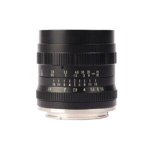 Image 2 - Brightin estrela 50mm f1.4 grande abertura padrão principal foco manual mf lente para fuji X A10 a20 a5 a3 X T20 t10 t3 t2 X PRO2 X E3