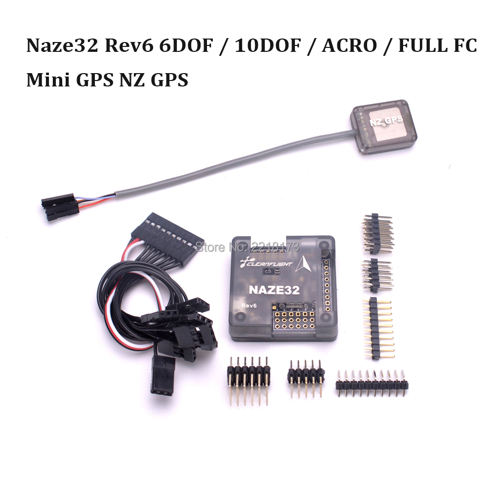 Naze 32 Naze32 Rev5 / Rev6 6DOF / 10DOF flight Controller board with shell can use CleanFlight Firmware For AfroFlight FPV 250 crius flight controller board support ardu plane ng multiwii firmware